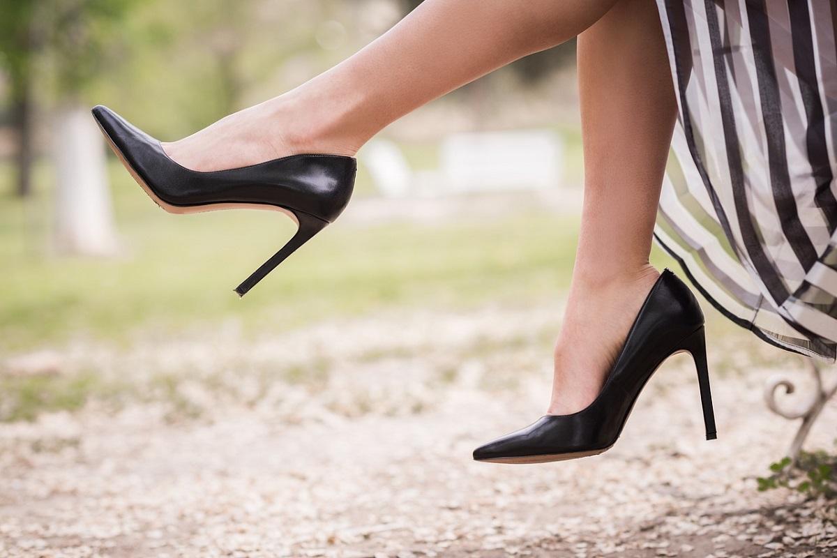 scarpe tacco medio